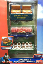 Fisher-Price Trackmaster Thomas & Friends Spaghetti & Meatballs Delivery Car