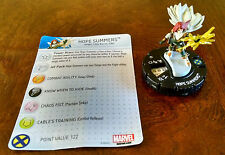 Hope Summers #016 LE from AvX with card Avengers vs. X-Men Heroclix set