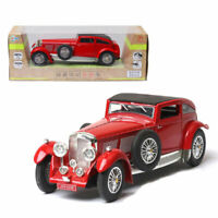 1930 Classic Bentley 8-Litre 1/32 Model Car Diecast Toy Kids Collection Gift Red