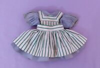 ORIGINAL DRESS & PINAFORE  for HARRIET HUBBAR AYER DOLL by IDEAL 1950s