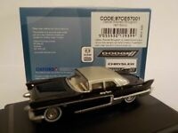 Model Car, Cadillac Eldorado Brougham - 1957 Black, 1/87 New Oxford 87CE57001