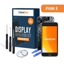 Für iPhone 8 Display LCD TFT HD GLAS Retina Bildschirm Touchscreen Schwarz