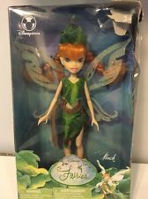 DISNEY FAIRIES BECK REd Hair DISCONTINUED NEW IN BOX SHE IS KINDHEARTED, SHY