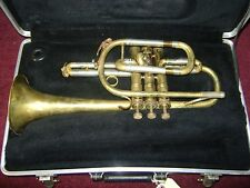 VINTAGE Besson Laquer finish Medal of Honor Cornet (1960's model) w/Case