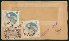 Mayfairstamps Lebanon 1960s Tri Frank Airmail Cover wwo90277