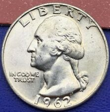 Etats-Unis Quarter Dollar Washington 1962, Pièce argent #1616