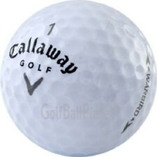 50 AAA+ Callaway Warbird Used Golf Balls   Recycled Golf Balls +  Free Tees