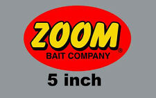 "5"" Zoom High Quality Decal Sticker Tackle Box Lures Fishing Boat Truck Baits"