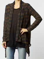 BNWT Religion Slang Knitted Cardigan in Avocado rrp £65.00