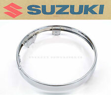 New Genuine Suzuki Head Light Lamp Trim Ring 75-76 RE5 73~77 GT550 GT750 OEM#Z07