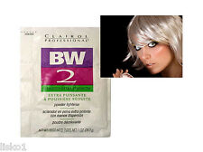 CLAIROL BW2 Hair Bleach Powder Lightener , DEDUSTED x-tra Strength 1oz. pk >