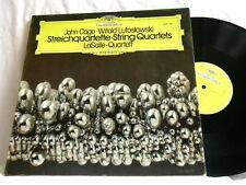 JOHN CAGE Witold Lutoslawski LaSalle String Quartet DG LP