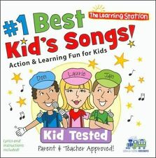 NEW #1 Best Kid's Songs (Audio CD)
