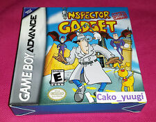 INSPECTOR GADGET ADVANCE MISSION GBA NINTENDO GAME BOY ADVANCE USA