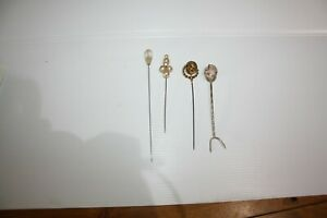 Vintage Hat Pins  Bundle of 4