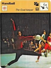 1979 Sportscaster Card Handball The Goal-Keeper # 62-18 NRMINT/MINT.