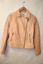 Banana Republic 672377 NEW $598 Heritage Cut Leather Women SMALL Moto Jacket pn