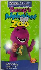 Barney's Alphabet Zoo VHS VCR Video