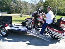 Aluminum Ramp 4 ft. - Motorcycles Onto Trailers - USA Ramps
