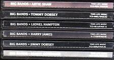 Time Life BIG BANDS Lot JIMMY TOMMY DORSEY GOODMAN ARTIE SHAW JAMES HAMPTON
