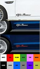 For ALFA ROMEO - 2 x DOOR - VINYL CAR DECAL STICKER ADHESIVE - BRERA 300mm long