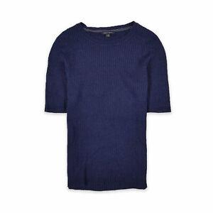 Tommy Hilfiger Damen Bluse Top Shirt Blouse Gr.L (DE 40) Pullover Blau 108167