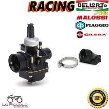 CARBURATORE DELL'ORTO PHBG 21 RACING + COLLET. MALOSSI VESPA Primavera 50 2T