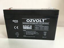 NEW 6V 7AH Sealed Lead-Acid Battery AGM UPS APC Alarm Toy car 7.0ah 20hr.