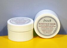 2x Fresh Rose Face Mask 20 mL / 0.6 oz each (Travel Size)