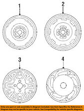 MAZDA OEM 94-95 MX-3 Wheel Cover-Hub Center Cap EA7037170