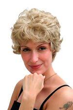 Damenperücke blond Retro-Kurzhaarschnitt gekräuseltes Haar ca.20 cm 6422-613L/18