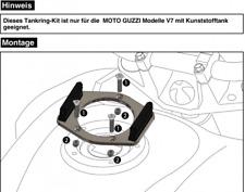 HEPCO BECKER lock it Anello SERBATOIO 5 FORI MOTO GUZZI v7 modelli con serbatoio in plastica