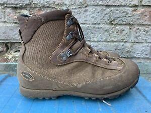 British Army Surplus AKU Pilgrim Gore-Tex High Liability Combat Boot Brown Suede