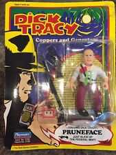Vintage Dick Tracy Pruneface Action Figure ~ New ~ Sealed 1990 Playmate Toys