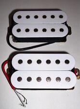 Neuf Set complet 2 Humbuckers - white - pour guitare guitare HH