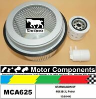 FILTER SERVICE KIT for MITSUBISHI  STARWAGON SF 4G63B  2L Petrol 10/86>90