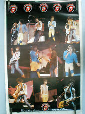 RARE THE ROLLING STONES 1981 USA TOUR 1981 VINTAGE ORIGINAL MUSIC POSTER