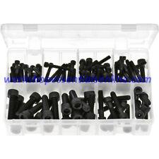 Metric Socket Screws Cap Head - Black. 100 Pieces AB92N