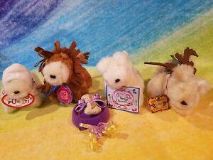 VanderBear 4 LuLu's Santa's Workshop, Spring Bonnet, Go For it, Looney Circus