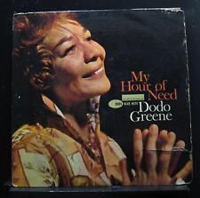 Dodo Greene - My Hour Of Need LP VG+ BLP 9001 RVG Ear Mono 1963 Vinyl Record