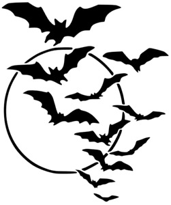 ANIMAL BATS BEES MYLAR STENCIL HOME DECOR PAINTING WALL ART 190 MICRON - A4 & A3