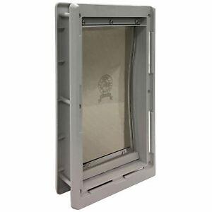 "Ideal Pet Products Designer Series Pet Door Medium Grey 2.12"" x 8.93"" x 14.87"""