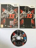 WWE 13: Mike Tyson Edition - Nintendo Wii / Wii U - PAL - Very Good  FAST & FREE
