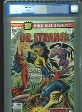 Dr Doctor Strange Annual #1 CGC 9.2 (1976) Dave Cockrum Cover White Pages