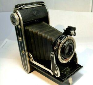 Agfa Plenax w/ Hypar f6.3 lens Folding medium format Camera uses PB-20 film