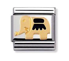Nomination Charm Black Elephant RRP £22
