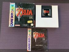 Zelda Link's Awakening DX - Jeu Nintendo Game Boy Color - Complet Pal FRA [RARE]