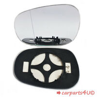 Left Passenger Electric Wing Door Mirror Glass for BMW 1 Series E87 E88 FL 2009+