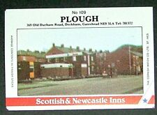 Matchbox label Pub Inn Plough Deckham Gateshead Tyne & Wear MA609