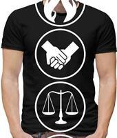 Faction Symbols Mens T-Shirt - Human Virtues - Film - Book -Trilogy - Divergent